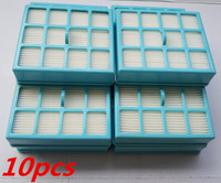 10pcs Vacuum Cleaner Filter Parts Hepa Filter For Replacement Philips FC8140 FC8142 FC8130 FC8144 FC8146