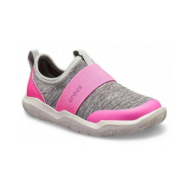 CROCS Swiftwater EasyOn Hthr Shoe K KIDS or boys/for girls, children, kids сандалии swiftwater wave k