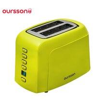 Тостер Oursson TO2145D 7 степеней обжаривания, автоматическое центрирование 2 шт., смарт-лифт, режимам разморозки и разогрева