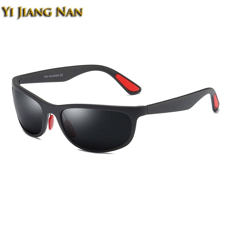 Yi Jiang Nan Brand TR90 Gafas Sport Myopia Polaroid Glasses Men Prescription Occhiali Da Vista Uomo Con Prescrizione Sunglasses