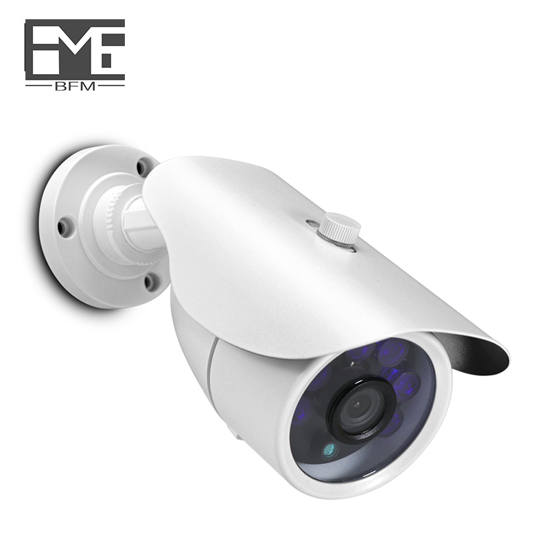 BFMore Audio POE IP Camera Sony IMX323 1080P Waterproof IR Night Vision Safety Outdoor Indoor cameras One-way 48V cctv цена