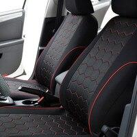 Auto Seat Cover Compatibel Airbag Rood Voor Nissan Peugeot Toyota RAV4 Corolla Vios Yaris Prius Camry Weiz|Auto Stoel beschermhoezen|   -
