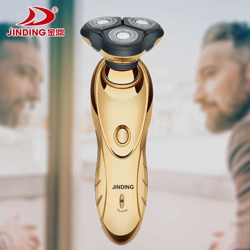 Cordless Shaver Men's Rotate Electric Shaver Rechargeable electric razor for men wet dry face beard shaving machine washable kemei men s electric shaver cordless rechargeable reciprocating razor wet and dry use beard trimmer men s face care tool km 2016