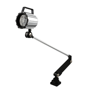 Image 2 - 7W/12W LED Long Arm Foldable IP67 Waterproof CNC Machine Tool Working Lamp Extended Turning Arm Anti Oil Machine Light Luminaire
