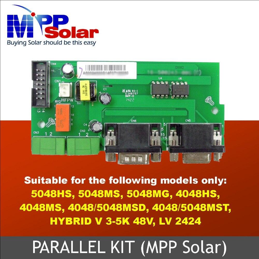 parallel pcb board  for 48v inverter PIP HS 48v and PIP MS, MSD , MST 48v