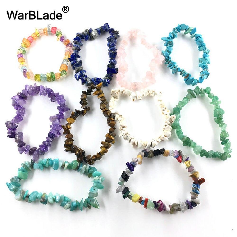 WarBLade Bracelet pour Femmes avec Pierres Précieuses Naturelles