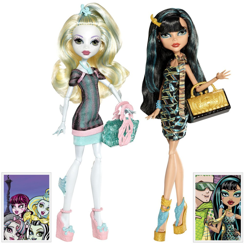 Doll Monster High Lagoona Blue and Клео de Nile Скариж