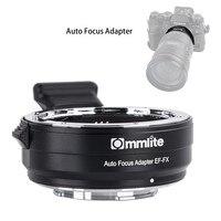 Commlite CM EF FX электронный Переходник крепление для объективов с автофокусом для Canon EF EF S объектив Fujifilm FX крепление Камера X T3 X T2 X H1 XT20