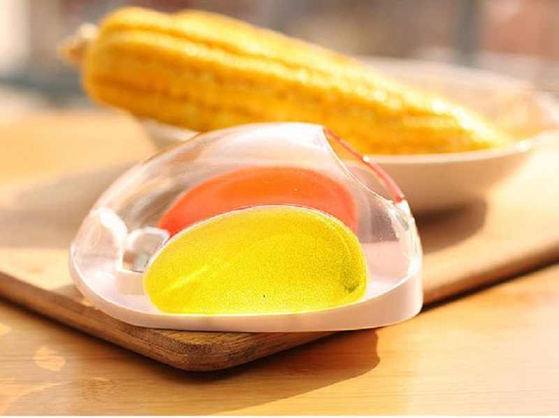 Горячая кукуруза зачистки молотилка для зачистки кернеля пилинг молотилка для кухни инструмент для приготовления пищи початка для удаления сепаратор Зерен Кукурузы овощечистка