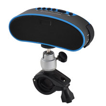 UXCELL Water Resistant Bicycle Bluetooth Speaker Out of doors Bike Driving Lighting Fastened Seat Speaker Blue For Cellphone