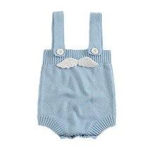 Neugeborenes Baby gestrickte Bodys Engels-Flügel-Entwurfs-Baumwollkleinkind scherzt einteilige Baby-Overall-Sommer-Sleeveless Säuglings-Kleidung