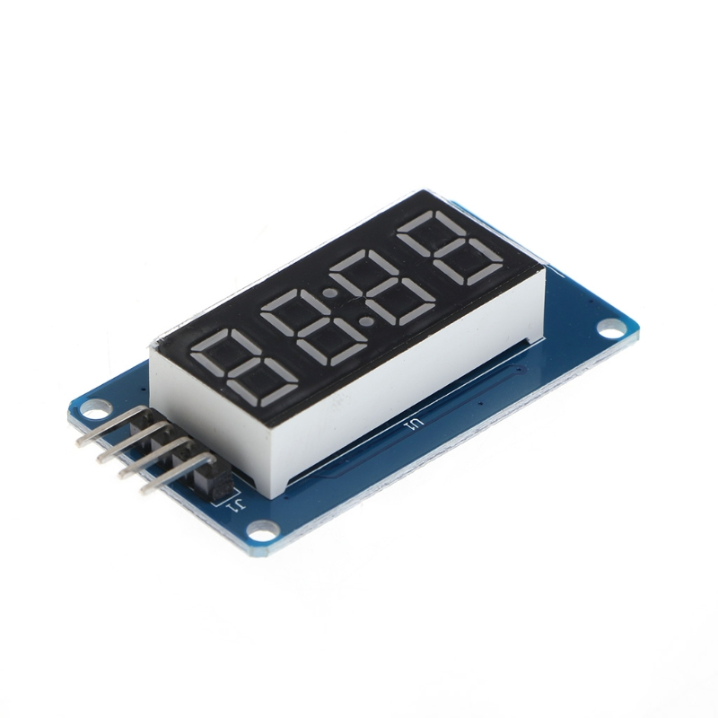 4 биты tm1637 цифровой LED часы Дисплей модуль связи UNO 2560 R3 для Arduino