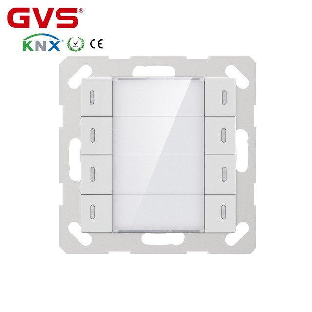 2018 New Knx Gvs K Bus Smart Home Automation System Eu Standard 55mm