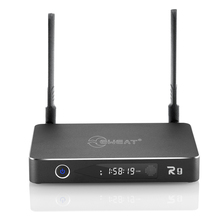 Original EWEAT R9 Smart TV BOX Android 6.0 +OpenWRT(NAS) Realtek RTD1295 2G/16G 802.11ac WIFI BT4.0 1000M LAN Media Player цена