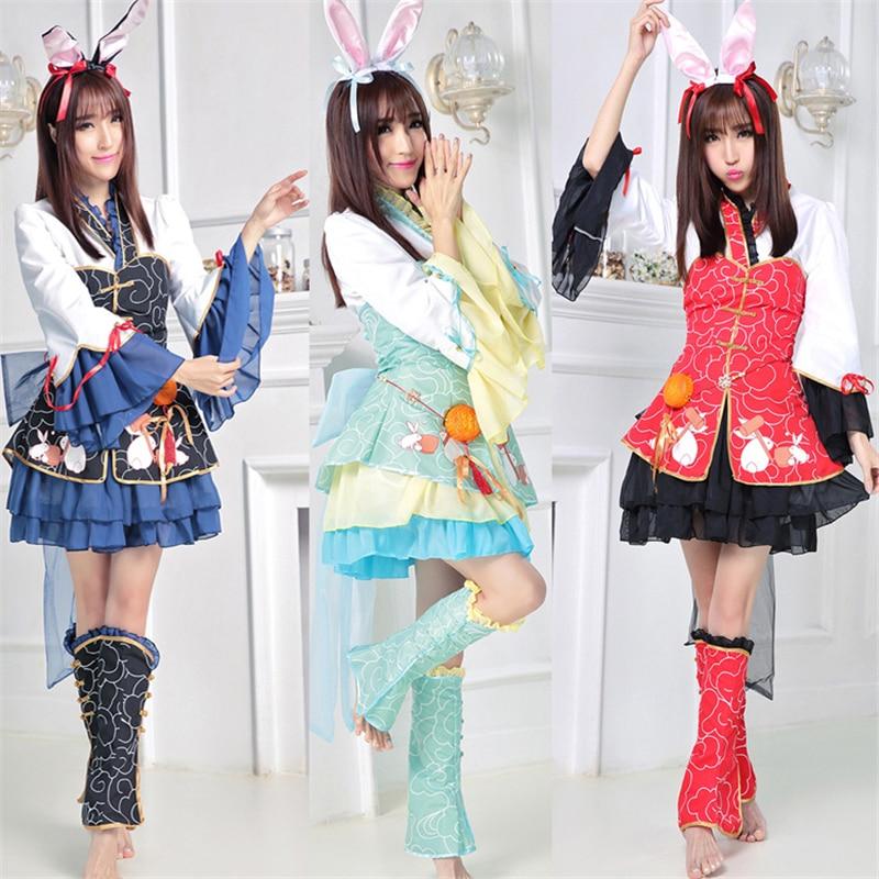 Role playing Myths, Miracles, Warmth, Moon, Rabbits, Ladies Dresses, Ancient Costumes, Hanfu, Moon Rabbits, Beautiful Dresses.