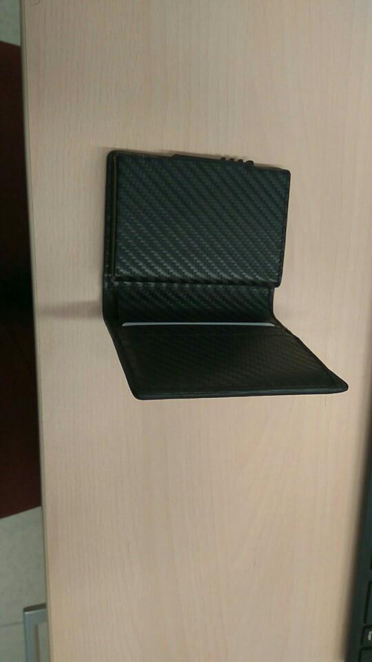 BISI GORO New Style RFID Card Holder Wallet Metal Men Women Single Box Minimalist Wallet Aluminium Blocking Wallet for Cards photo review
