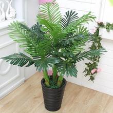 100 см реальное прикосновение шелка большой искусственные растения Tree тропический поддельные завод дерево Декор для дома и сада без горшок