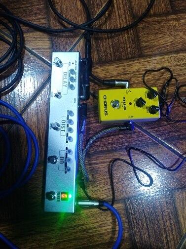 Peças e acessórios p/ guitarra Dapper Valeton Effects