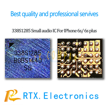 1-100pcs 338S1285 For IPhone 6s 6s Plus Small Audio IC U3700 U3800 Microphone Speaker Amplier Audio