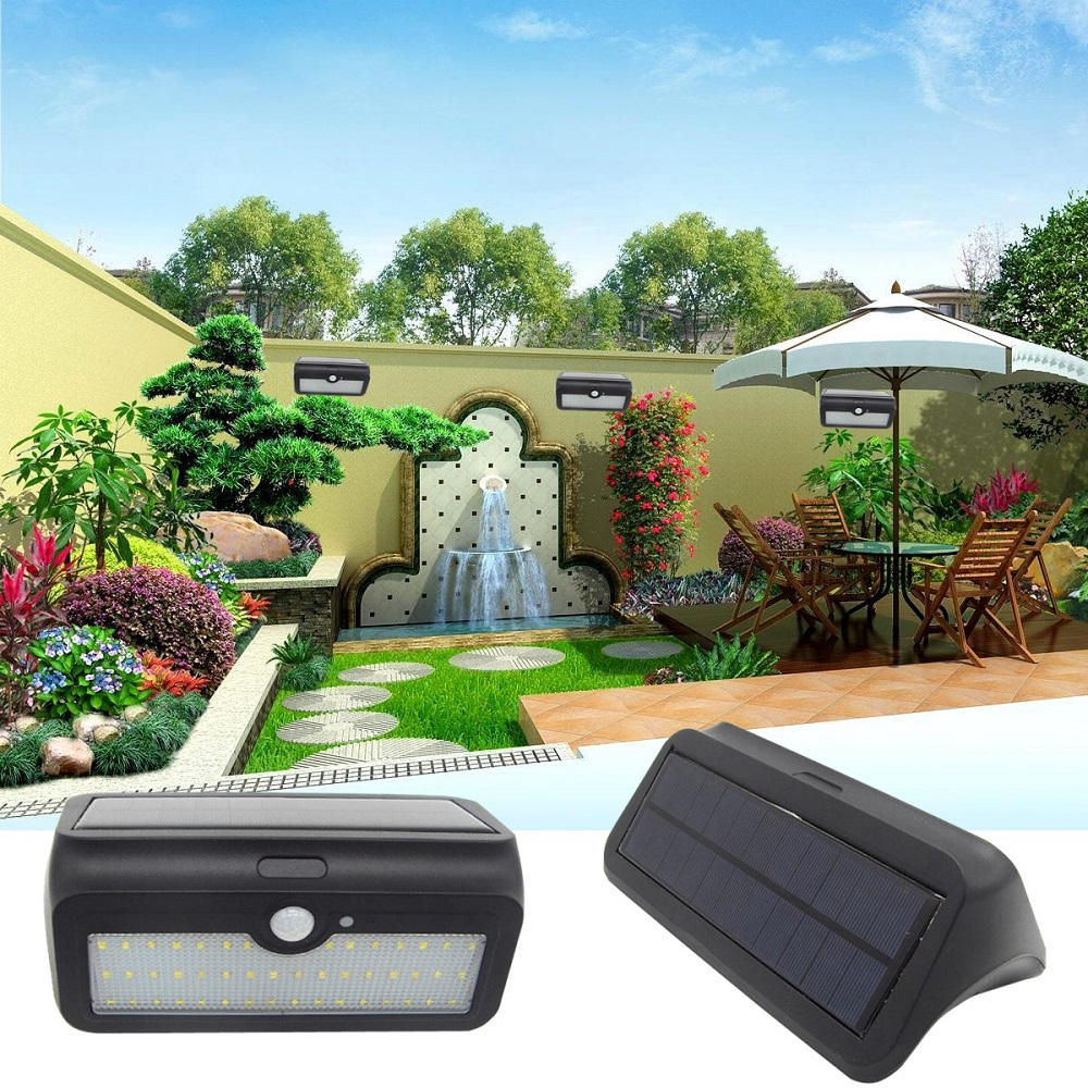 Outdoor Lighting Latest Collection Of Worldsky 1000lm 46 Led Garden Light Led Solar Light Outdoor Lighting Lamp Pir Human Body Motion Sensor Ip65 Waterproof Wall Lamp Available In Various Designs And Specifications For Your Selection Lights & Lighting