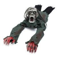 Halloween Party Decoration Praktyczne Żarty Zabawki Dostawa Sterowanie Głosem Indeksowania Duch Z Włosami Rekwizyty Zabawki Dla Dorosłych Dzieci Prezent
