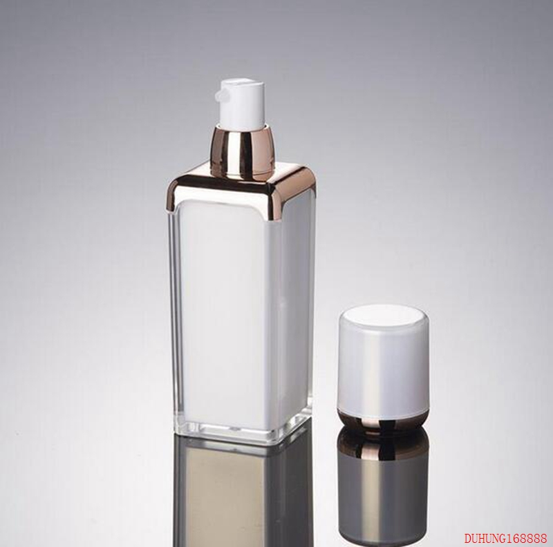 300pcs 15ml 30ml 50ml pearl white acrylic cream bottle ,cosmetic container,,cream jar,Cosmetic Jar,Cosmetic Packaging alcohol and liquid container bottle white 180ml