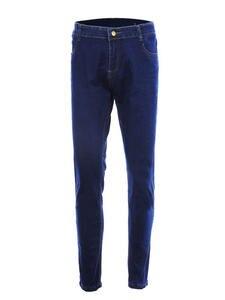 SHUJIN Skinny Jeans Trousers Pencil-Pants Stretch Slim Plus-Size Casual Denim Straight