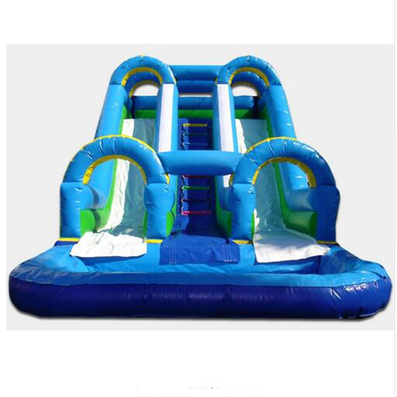 Outdoor inflatable slide for kids and adults inflatable ...