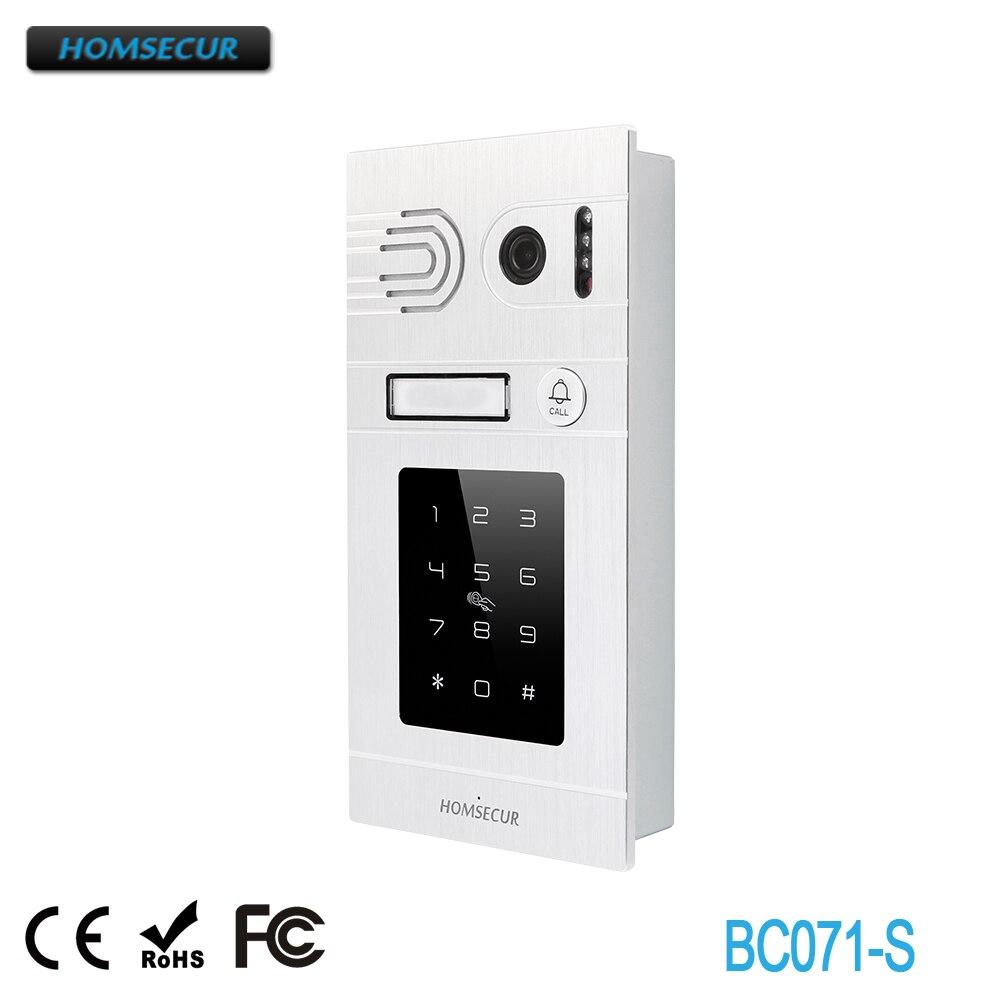 HOMSECUR Outdoor Camera BC071-S For HDK Video Door Phone System