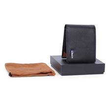 الذكية محفظة الرجال جلد طبيعي عالية الجودة مكافحة خسر ذكي بلوتوث محفظة الذكور حاملي بطاقة دعوى ل IOS ، أندرويد