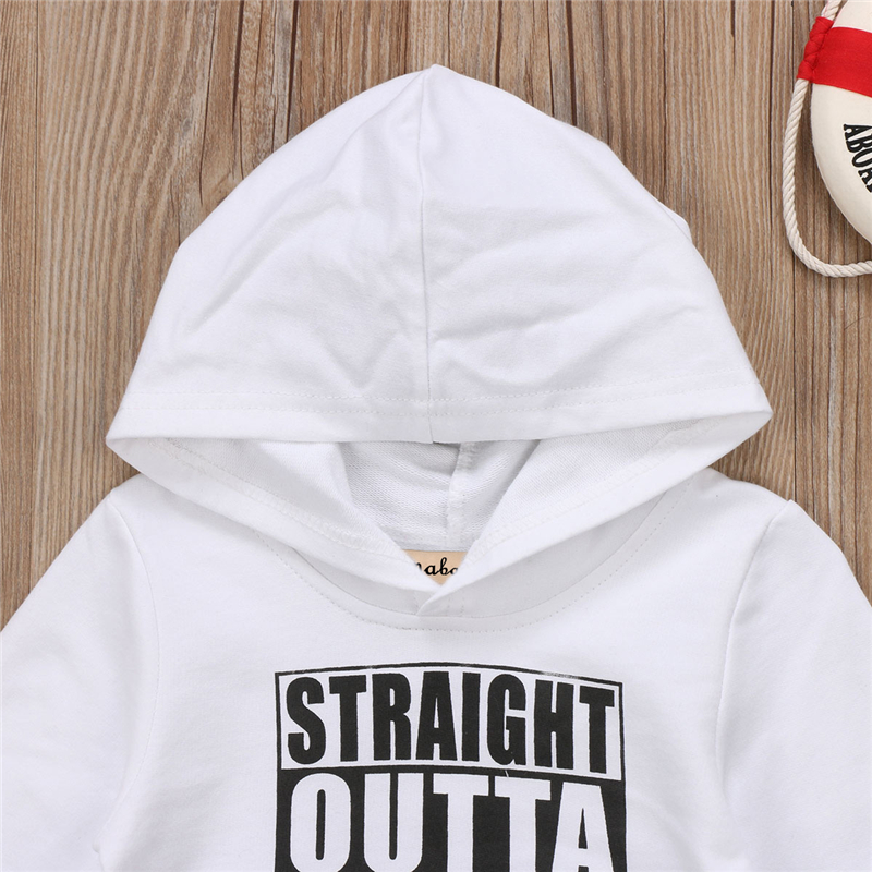 UTB85SzHapPJXKJkSahVq6xyzFXaO - Stylish Young Kids Cotton Hoodie Long Sleeve Sweatshirt with Letter Print Front