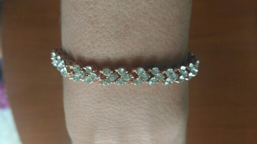 3 Color Women Fashion Roman Style Woman 925 Sterling Silver Crystal Bangles Gifts