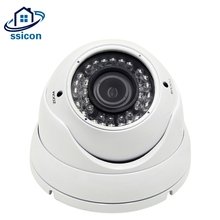 SSICON 4MP CCTV Dome Surveillance Cameras AHD Metal Housing 2.8-12mm Varifocal Lens 4X Zoom Home Security Camera IR Night Vision цена