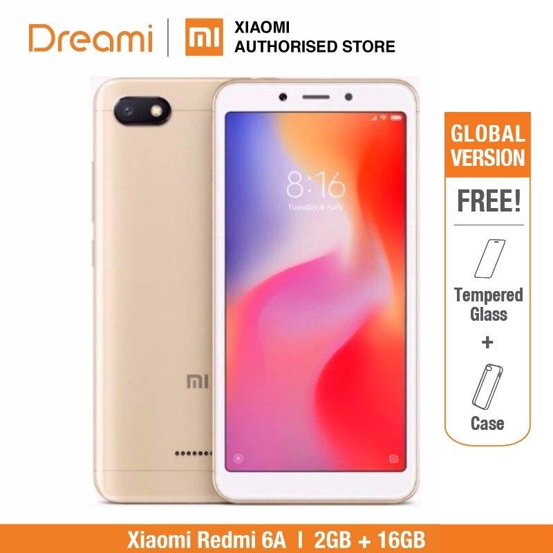 Globale Version Xiaomi Redmi 6A 16 GB ROM 2 GB RAM (Marke Neue und Versiegelt) Redmi6a 16 GB