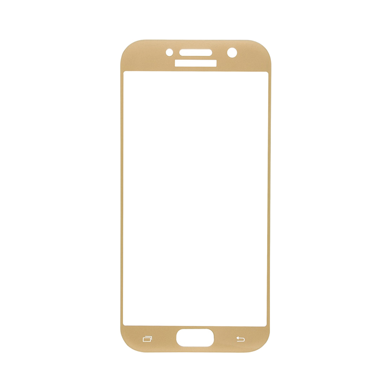 Protective glass Red Line for Samsung Galaxy A5 (2017) Full screen gold стоимость