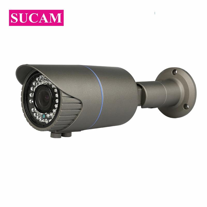 Cámara de seguridad de vídeo Varifocal analógica SUCAM 4MP AHD Bullet 2,8 12mm lente a prueba de agua OV4689 CMOS Sensor CCTV  Zoom de la Cámara 30M IR-in Cámaras de vigilancia from Seguridad y protección on AliExpress - 11.11_Double 11_Singles' Day 1