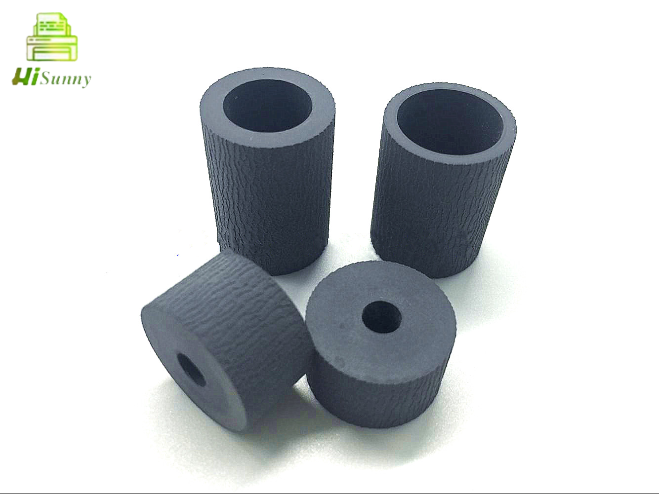 5set compativel novo cilindro de recolhimento de papel pneu de borracha para toshiba e163 182 255