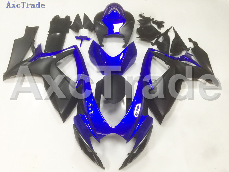 Motorcycle Fairings For Suzuki GSXR GSX-R 600 750 GSXR600 GSXR750 2006 2007 K6 06 07 ABS Plastic Injection Fairing Bodywork B10 injection mold fairing 2006 2007 for suzuki gsx r 600 750 k6 k7 plastic bike bodywork red frame free brand logo decal