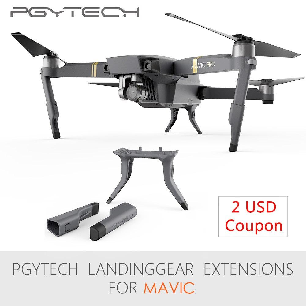 PGYTECH Estesa carrello di Atterraggio Gamba di Sostegno Protector Estensione di Ricambio Misura Per Mavic Pro drone accessori