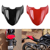 Motorcycle ABS Plastic Rear Pillion Passenger Hard Seat Cowl Cover Section Fairing for 2014 2017 Ducati Monster 821 2015 216