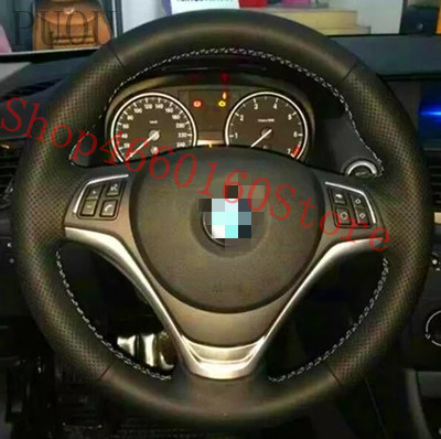 PUOU for BMW X1 Z4 E90 E39 E70 330 special hand sewing steering wheel cover Refurbished Customized,free shipping
