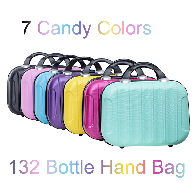 New 132 Bottles 7 Candy Colors Storage Handbag Diamond Painting Accessories Diamond Diamond Embroidery Tool Household
