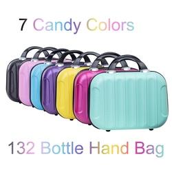 New 132 Bottles 7 Candy Colors Storage Handbag Diamond Painting Accessories Diamond Diamond Embroidery Tool Household Items