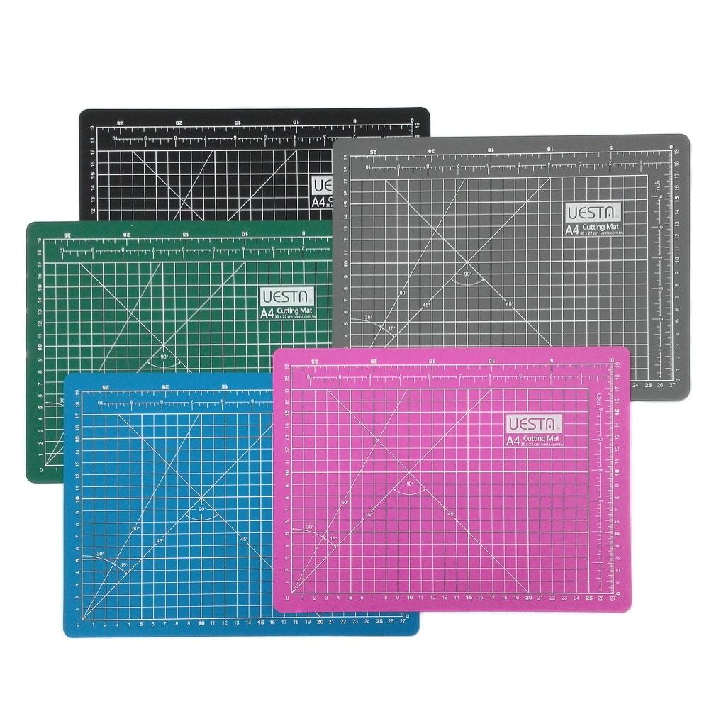 A1 taille UESTA livraison gratuite 90x60 CM grille PVC auto-guérison tapis de coupe