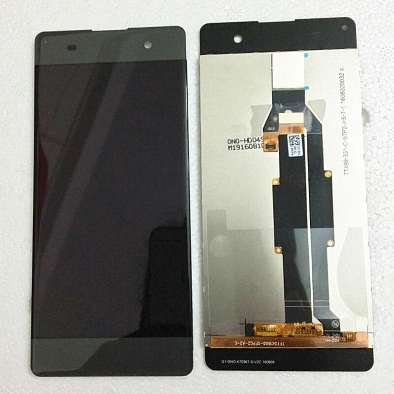 5,0 ''Original LCD Für Sony Xperia XA F3111 F3113 F3115 LCD Display mit touch Screen display Digitizer Montage Freies verschiffen