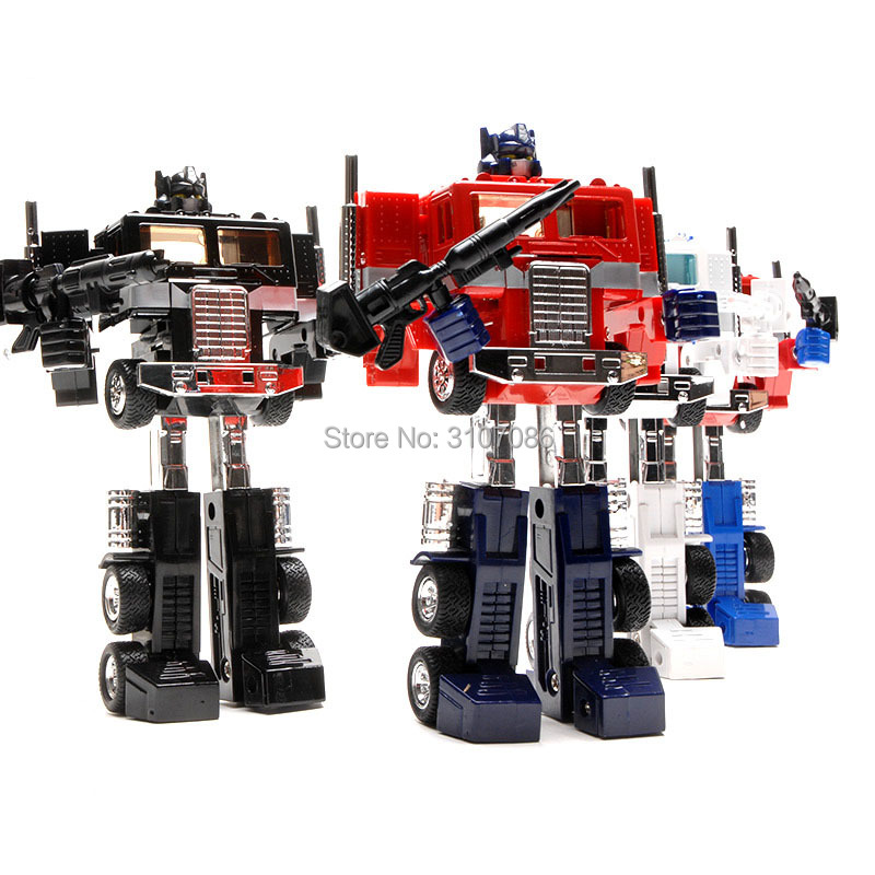 G1 Transformation OP Commander With Container Metal Header Five Color KO Classic Version Collection Action Figure
