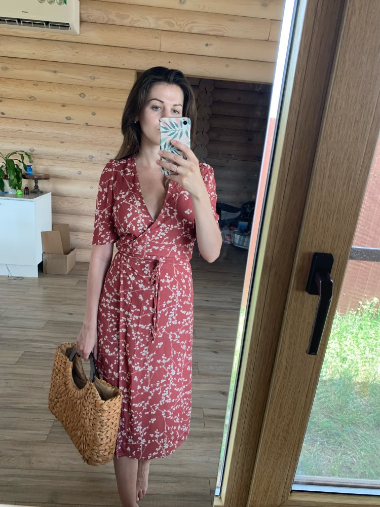 Summer Women Dress Elegant Vintage Beach Dress Short Sleeve Causal Sexy Wrap Long Dress Boho Korean Vestidos photo review