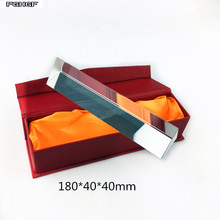 FGHGF Optical glass prism 180*40*40 Science experiment equipment Rainbow exposure refraction triangle mirror material