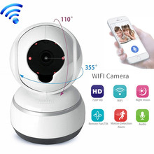 hot deal buy mini wifi ip camera 720p hd wireless home security video surveillance infrared ir p2p cloud cctv ip cam baby monitor sd card