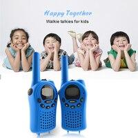 מכשיר הקשר 2pcs מיני מכשיר הקשר לילדים רדיו FRS / GMPs 8 / 22CH VOX פנס צג LCD UHF 400-470 MHZ שני מכשירי רדיו דרך מתנות אינטרקום (2)
